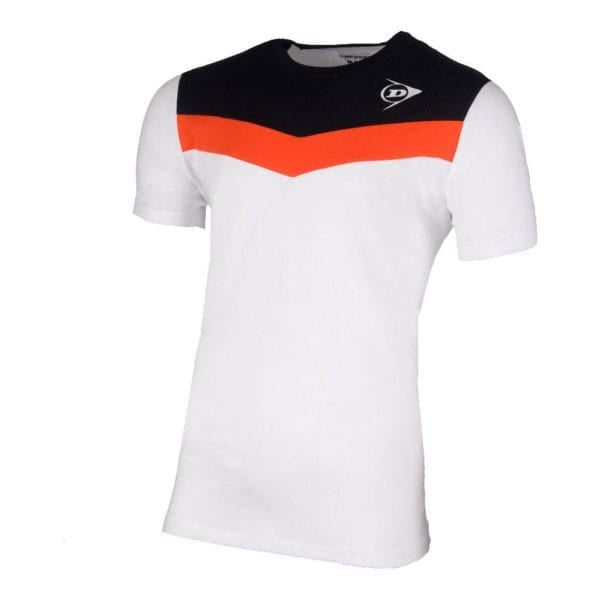 Dunlop Cotton Tee Wit