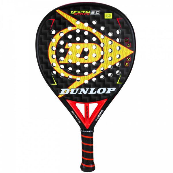 Pala de Padel Dunlop Inferno Graphite 2.0